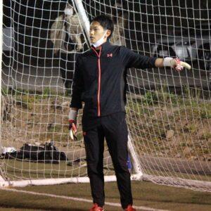 長崎ゴールキーパースクール代表田中駿也
