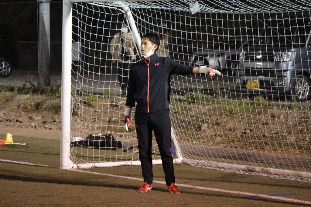 長崎ゴールキーパースクール代表田中
